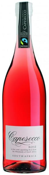 Wein Capesecco Rosé Fair Trade Perlwein | 0,75l | Südafrika, rosé
