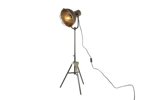 Stehlampe Metall 26x26x155cm