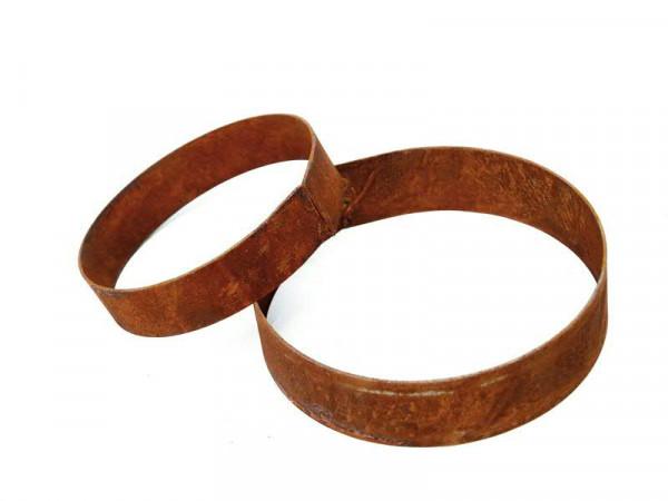 Rost Ring D15B5cm als Standfuß für Artikel mit Grundform 40cm
