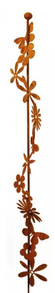 Rost Blumenbandstecker H150cm