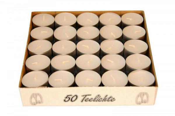 Teelichte kl.50er, weiß 38 mm