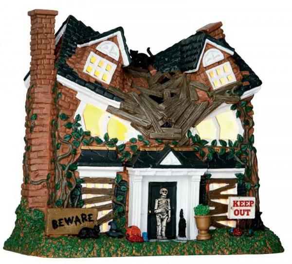 Halloween Monster on Maple Street Beleuchtet,Batteriebetrieben,20,5x18,5