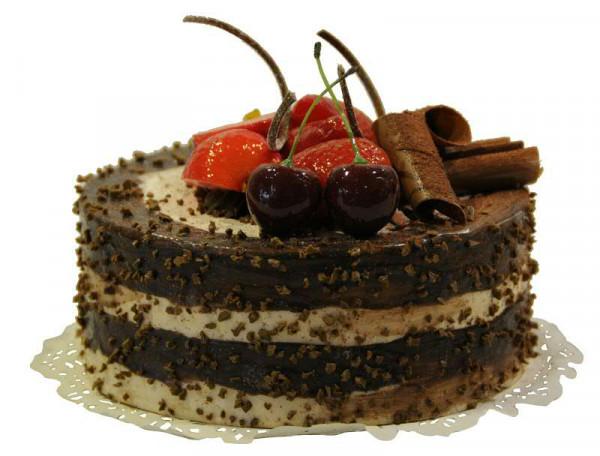 Torte D15h10cm Schoko Braun Kuchen Torten