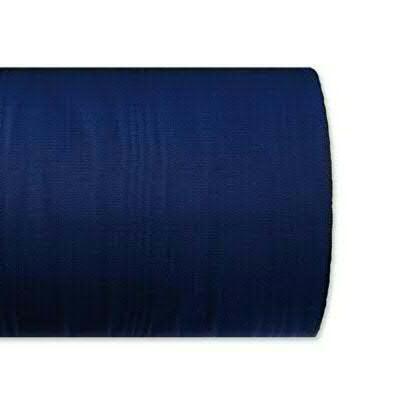 Kranzband 5025/150mm 25m Moire, 531 d.blau