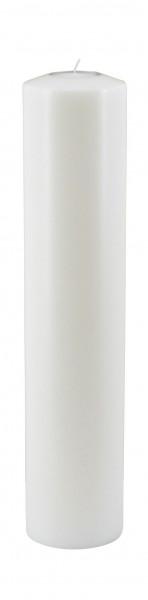 Lux Classic D12H55cm Teelichthalter für Maxi Teelicht, weiß