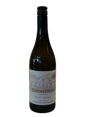 Wein Simonsvlei Pinot Grigio Jg.2020 | 0,75l | Südafrika, weiß