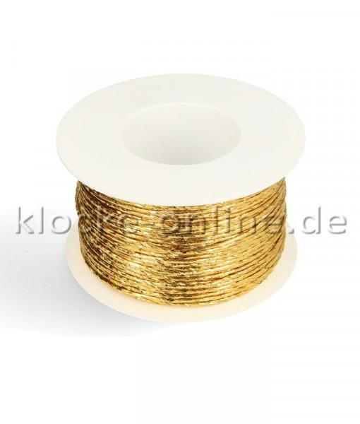 Papierdraht metallic 2mm 100m, gold