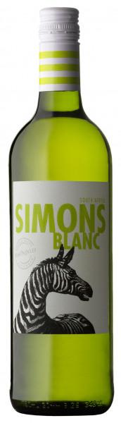 Wein Simonsblanc Zebra weiß Jg.17/18 | 0,75l | Südafrika