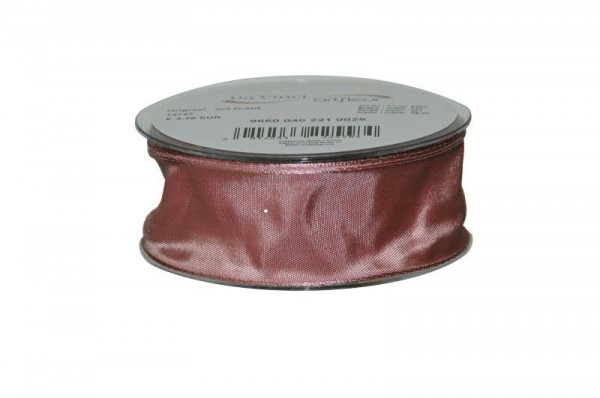 Band 9660/40mm 25m, 221 rosa