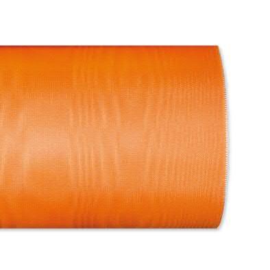 Kranzband 4020/125mm 25m Moire, 413 h.oran