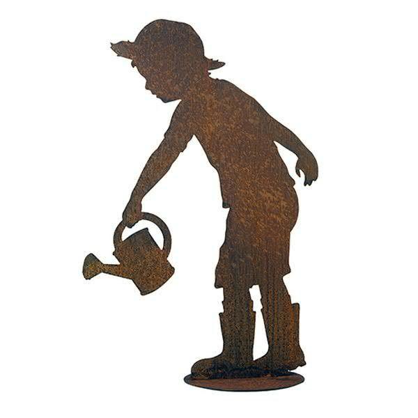 Rost Gärtner 13cm auf Platte