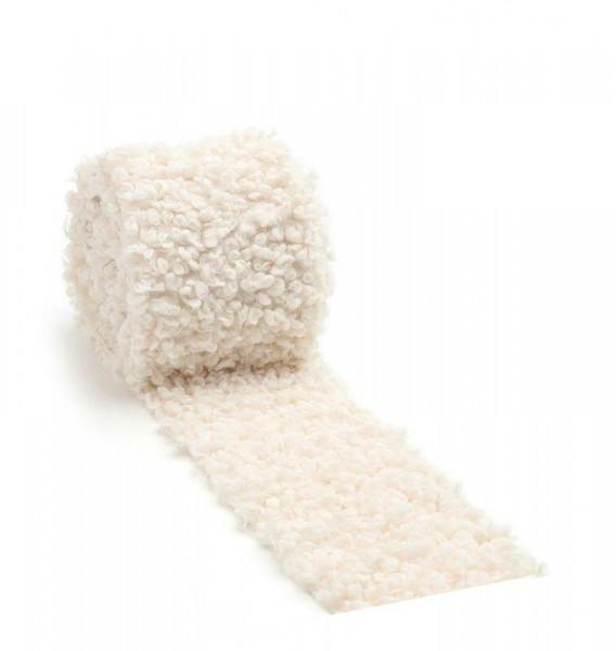 Fell Band 5413/8cm 2m, weiß