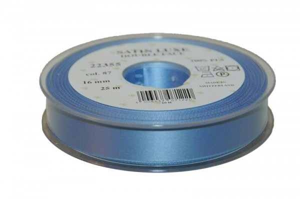 Band Satin 22355/16mm 25m, 087 h.blau