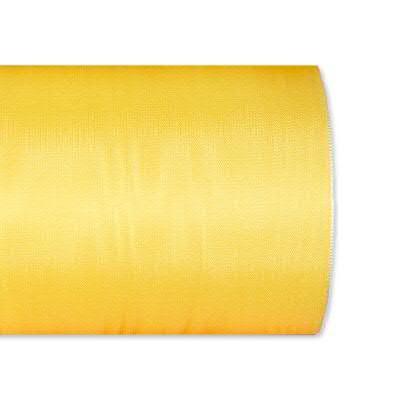 Kranzband 4020/125mm 25m Moire, 412 h.gelb