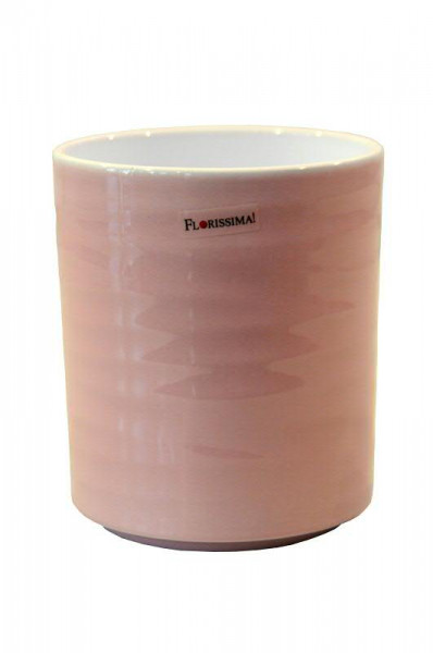 Kübel Keramik 943/15cm Orchidee, Lasur rosa