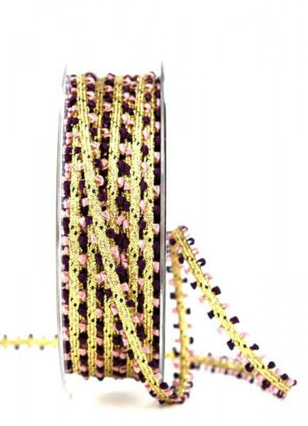 Band 1331/07mm 10m, erika/gold