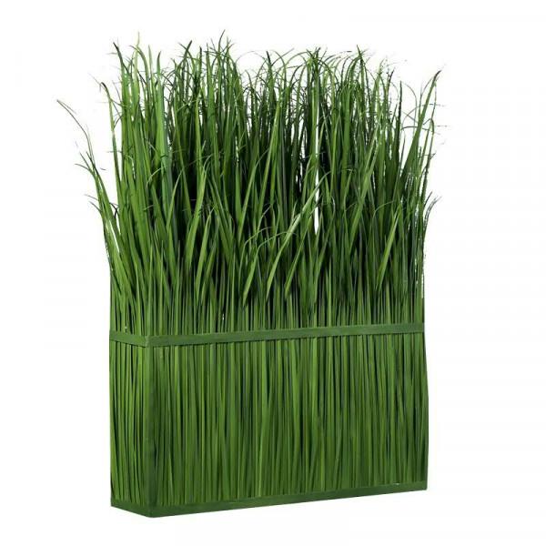 Gras Raumteiler 24x100x145cm, grün