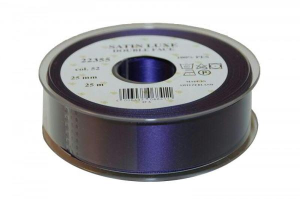 Band Satin 22355/25mm 25m, 052 lila