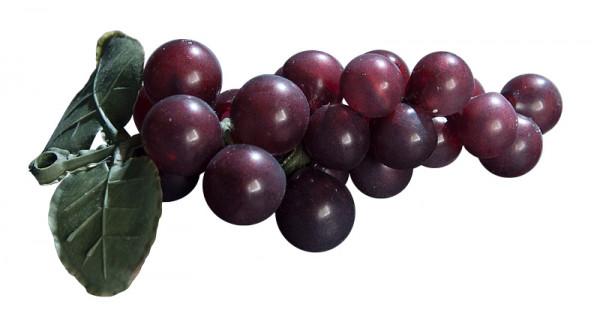 Weintrauben 14cm x36 m.2Blättern, burgund