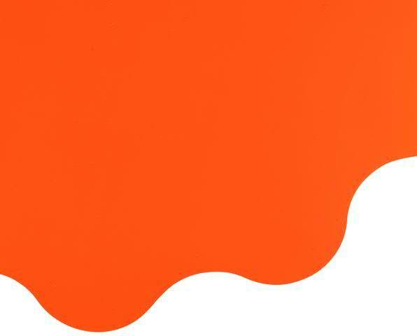 Rondella 50cm Mat Pearly, orange