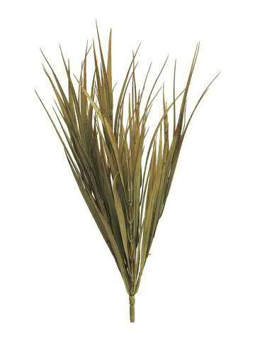 Gras Busch 50cm, braun