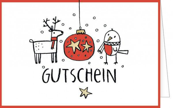 gutschein weihnachten weihnachts karten weihnachten saisonale artikel deko klocke online. Black Bedroom Furniture Sets. Home Design Ideas