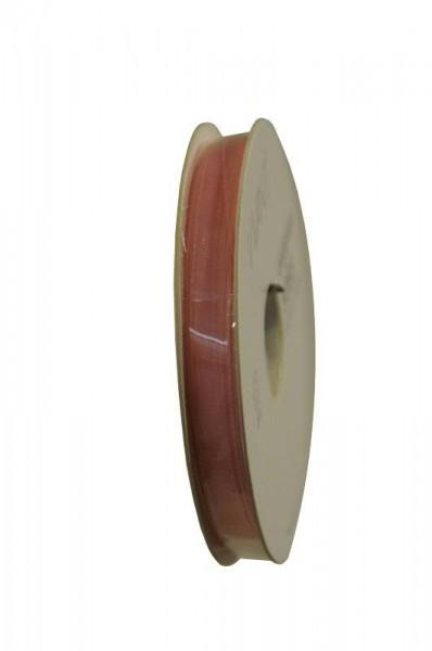 Band Organza 5065/7mm 50m, 10 rosa