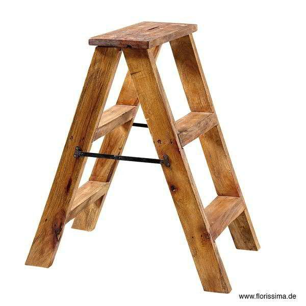 Leiter Holz SP 51x32x57cm, natur
