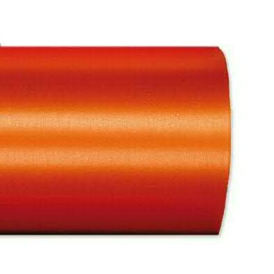 Kranzband 2601/075mm 25m Satin, 768 orange