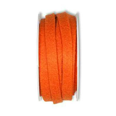 Filzband 61700/10mm 5m, 68 orange