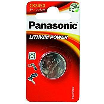 Batterie Panasonic CR2450 3V
