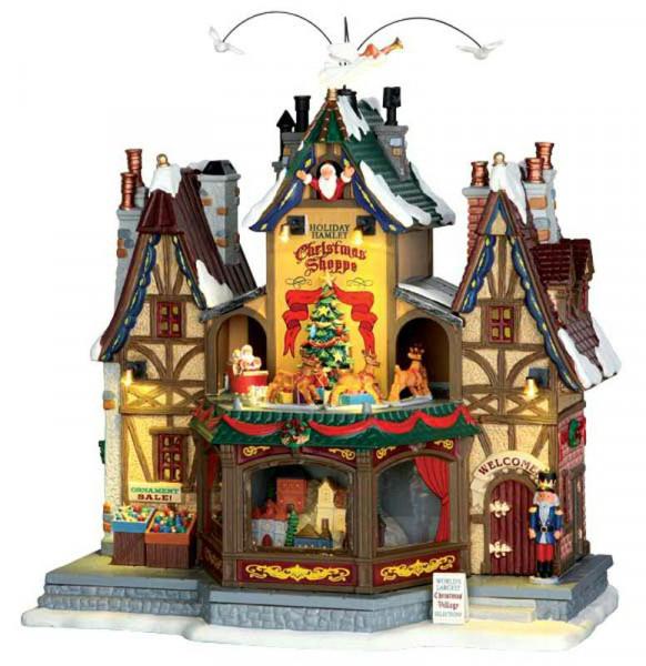 Holiday Hamlet Christmas Shoppe | Animierte Artikel | Lemax ...