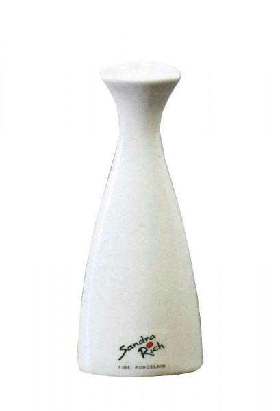 Vase Porzellan H14cmd6cm Weiss Farbig Sandra Rich