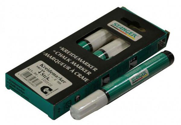 Deko Marker 4mm mit Flüssigkreide, weiß