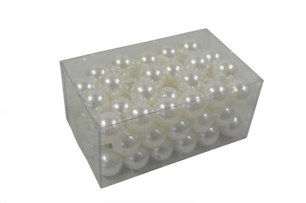 Perlen 24mm 500g, weiss