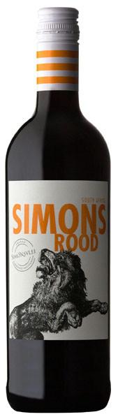 Wein Simonsrood Löwe rot 0,75l | Südafrika