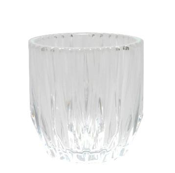 Glas Topf H11D10,5cm, klar