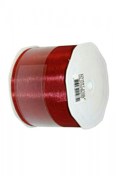 Band Organza 4335/70mm 25m, 19 himbeer