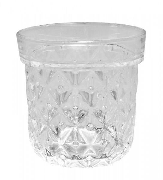 Glas Topf H13,5D13cm, klar