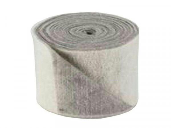 Filz Topfband B15cm 5m WE04/GR18, weiß/grau