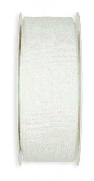 Band 5866/35mm 20m Irisee, 11 weiß