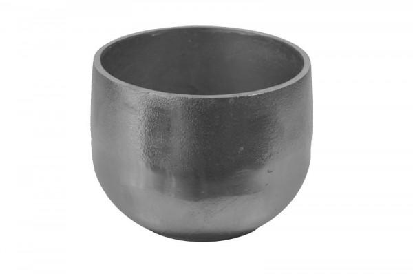 Topf Alu antik D18H15cm, silber