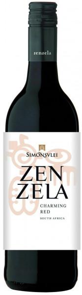 Wein Zenzela Charming Red 0,75l | Südafrika, rot