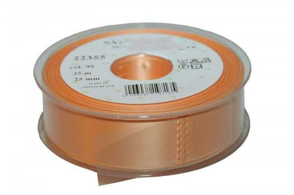 Band Satin 22355/25mm 25m, 099 lachs