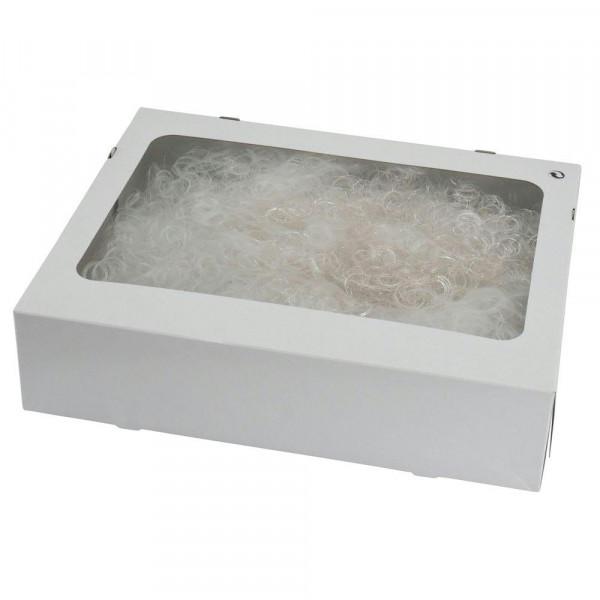 Engelshaar gelockt 150g Feenhaar/Flowerhair, weiß/silbe