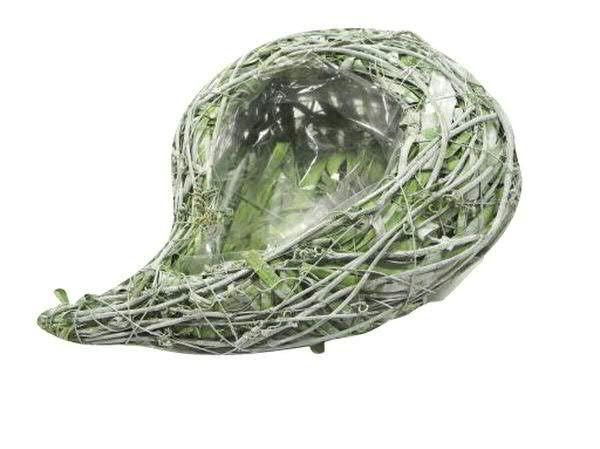 Pflanztropfen D30cm rund, grün