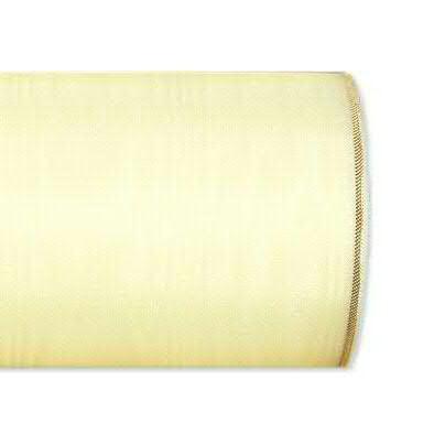 Kranzband 4422/125mm 25m Moire Goldrand, 278 champa