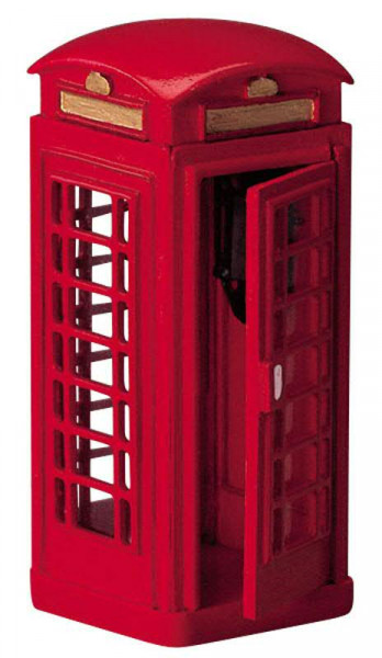 Telephone Booth 3,1x7,7cm