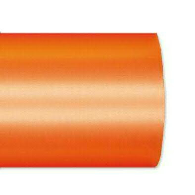 Kranzband 2601/100mm 25m Satin, 733 h.oran