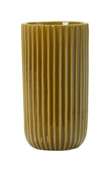 Vase Keramik H24,5D13cm Lauri, karamell